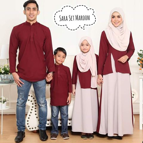 Jubah Family Set 2018